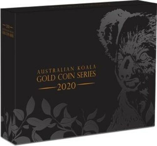 Zertifikat:Australien : 200 Dollar Koala 2 oz Highrelief  2020 PP