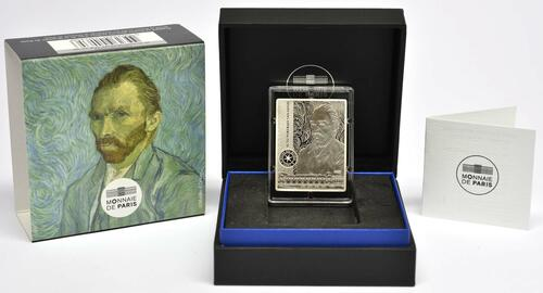 Lieferumfang:Frankreich : 10 Euro Van Gogh/Selbstportrait  2020 PP