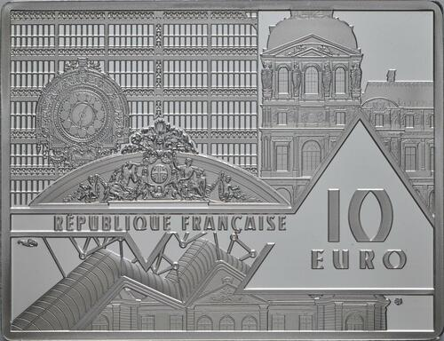 Rückseite:Frankreich : 10 Euro Picasso - Guernica   2020 PP