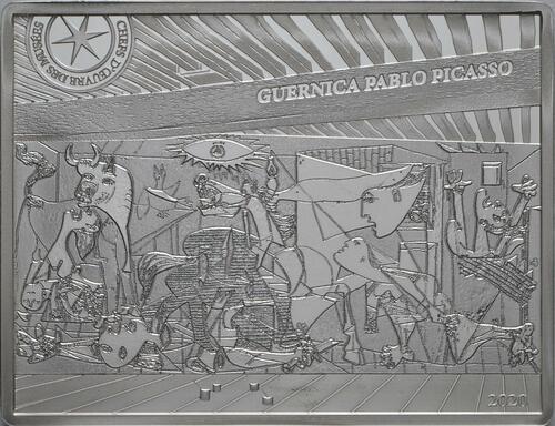 Vorderseite:Frankreich : 10 Euro Picasso - Guernica   2020 PP