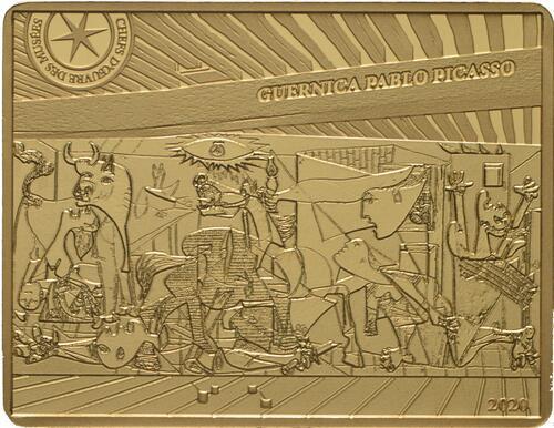 Vorderseite:Frankreich : 50 Euro Picasso/Guernica  2020 PP