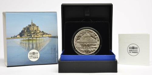 Lieferumfang:Frankreich : 10 Euro Die Drei Berge - Mt. St.-Michel  2020 PP