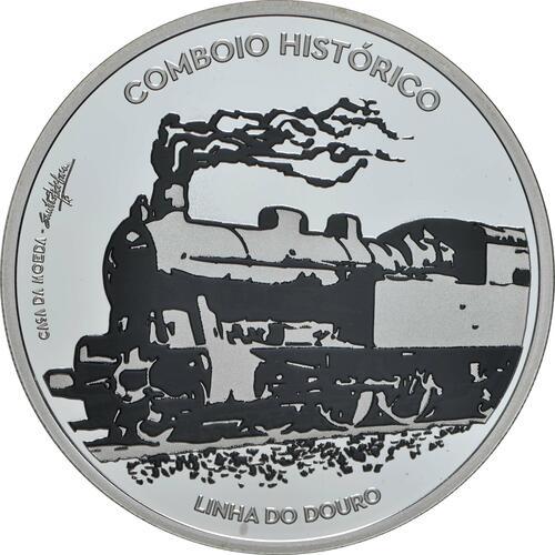 Vorderseite:Portugal : 7,5 Euro Douro Eisenbahnlinie - Iberoamerikan. Serie  2020 PP