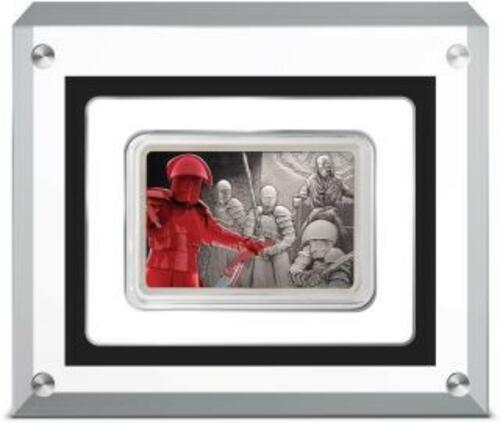 Lieferumfang:Niue : 2 Dollar Praetorian Guards-Star Wars/Guards of the Empire  2020 Stgl.