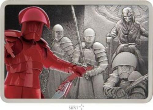 Vorderseite:Niue : 2 Dollar Praetorian Guards-Star Wars/Guards of the Empire  2020 Stgl.