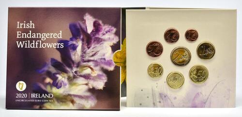 Lieferumfang:Irland : 3,88 Euro KMS Irland Wildblumen  2020 Stgl.