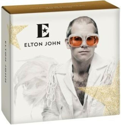 Zertifikat:Großbritannien : 2 Pfund Elton John - Musiklegenden   2020 PP