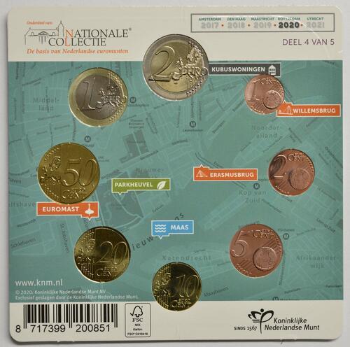 Zertifikat:Niederlande : 3,88 Euro KMS Niederlande klein  2020 bfr