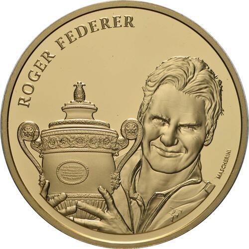 Vorderseite:Schweiz : 50 sfr Roger Federer  2020 PP