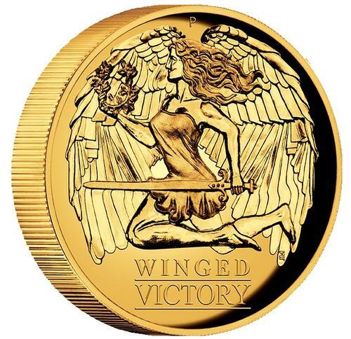 Zertifikat:Australien : 100 Dollar Winged Victory   2021 PP