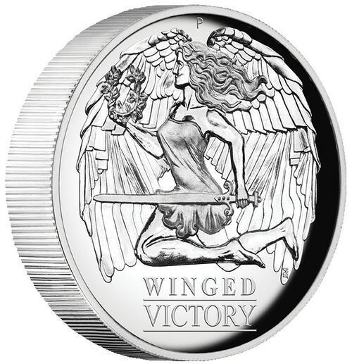 Zertifikat:Australien : 1 Dollar Winged Victory   2021 PP