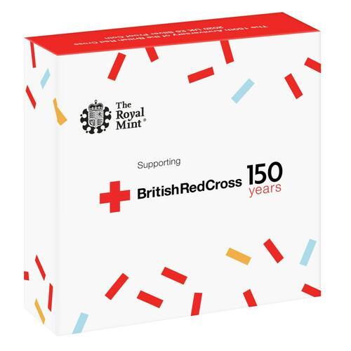 Rückseite:Großbritannien : 5 Pfund 150 Jahre Britisches Rotes Kreuz   2020 PP