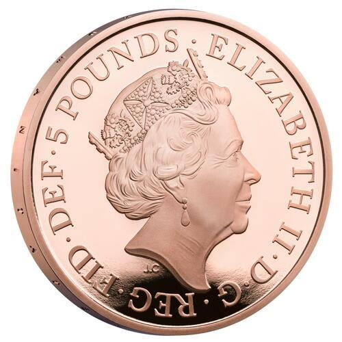 Vorderseite:Großbritannien : 5 Pfund 150 Jahre Britisches Rotes Kreuz   2020 PP