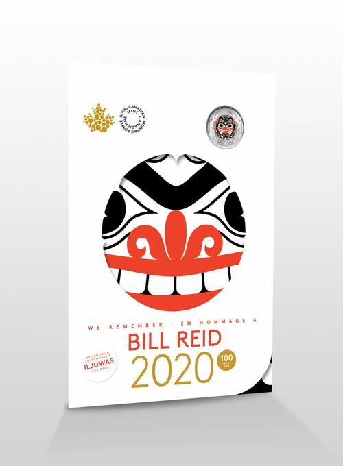 Vorderseite:Kanada : 5,4 Dollar Sammler Andenken - Bill Reid   2020 bfr