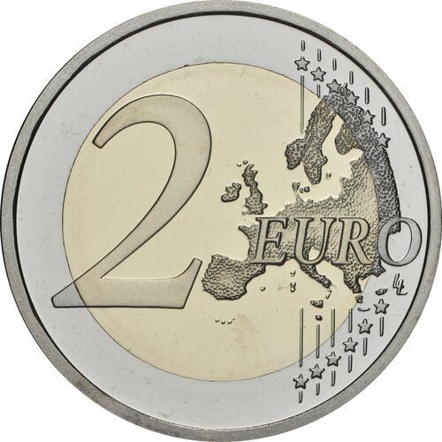 Vorderseite:Slowenien : 2 Euro 500. Geburtstag von Adam Bohoric  2020 PP