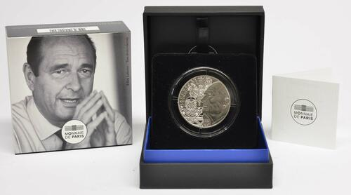 Lieferumfang:Frankreich : 20 Euro Jacques Chirac  2020 Stgl.
