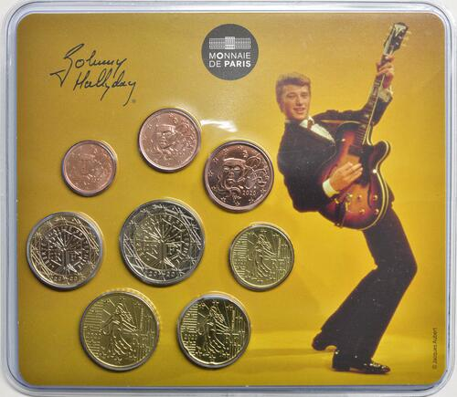 Lieferumfang:Frankreich : 3,88 Euro KMS Johnny Hallyday Guitar Vintage  2020 Stgl.