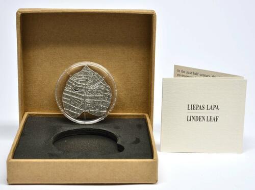 Lieferumfang:Lettland : 5 Euro Lindenblatt  2020 PP
