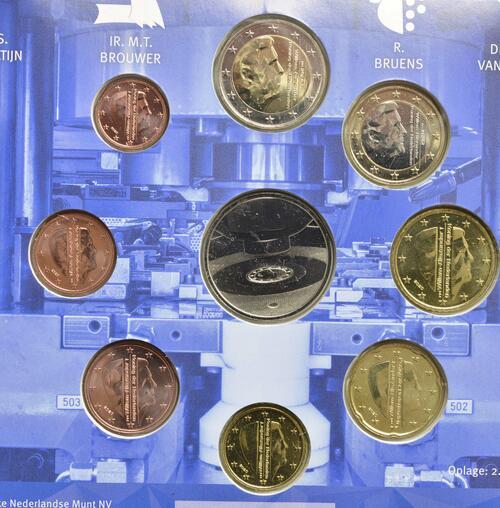 Rückseite:Niederlande : 3,88 Euro KMS Niederlande Tag der königlichen Münze   2020 Stgl.