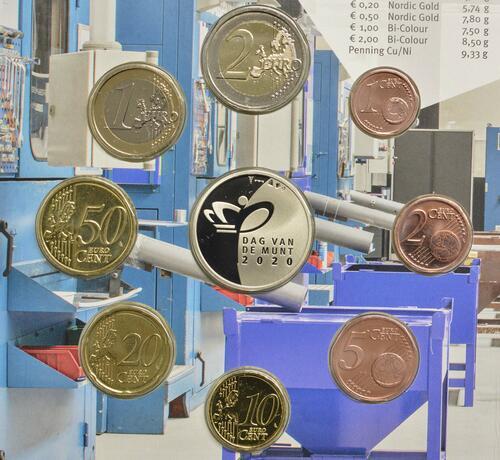 Vorderseite:Niederlande : 3,88 Euro KMS Niederlande Tag der königlichen Münze   2020 Stgl.