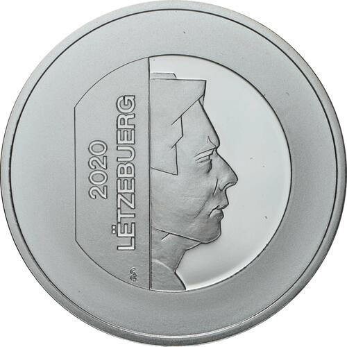 Rückseite:Luxemburg : 25 Euro Prinz Charles  2020 PP
