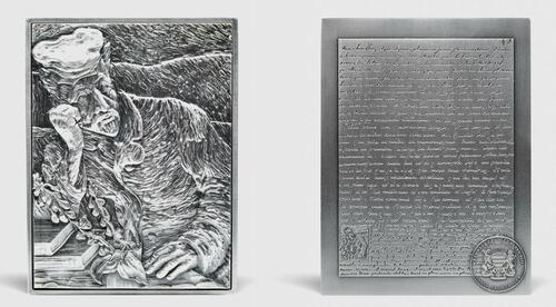 Lieferumfang:Tschad : 10000 Franc Van Gogh - Portrait Dr. Gachet Antik Finish   2021 Stgl.