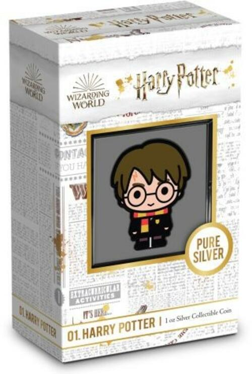 Lieferumfang:Niue : 2 Dollar Harry Potter - Chibi Coin Collection #2  2020 PP