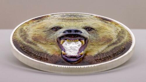 Rückseite:Tansania : 1500 Schilling Grizzly Bear   2020 PP