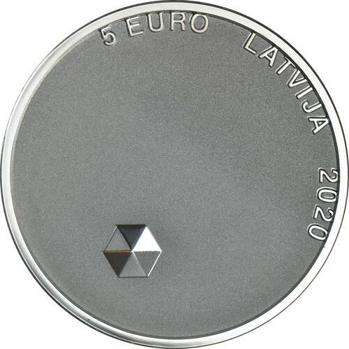 Vorderseite:Lettland : 5 Euro Persönliche Freiheit  2020 PP