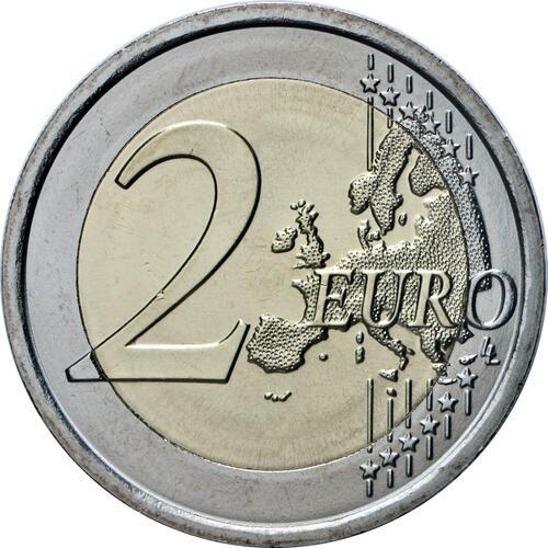 Vorderseite:Italien : 2 Euro Medizinische Fachkräfte Grazie  2021 bfr