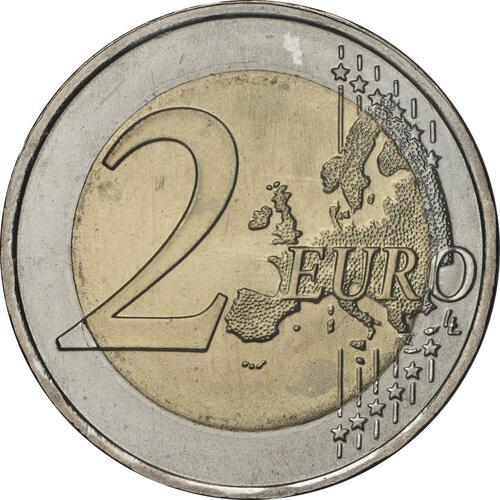 Vorderseite:Portugal : 2 Euro EU-Präsidentschaft  2021 bfr