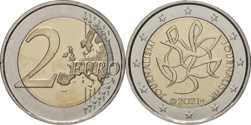 Lieferumfang:Finnland : 2 Euro Journalismus und Redefreiheit  2021 bfr