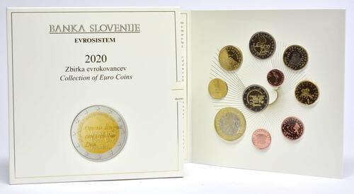 Lieferumfang:Slowenien : 8,88 Euro KMS Slowenien  2020 PP