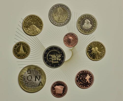 Vorderseite:Slowenien : 8,88 Euro KMS Slowenien  2020 PP