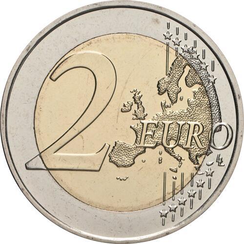 Vorderseite:Finnland : 2 Euro 100. Jahrestag der Selbstverwaltung in der Region Aland  2021 bfr