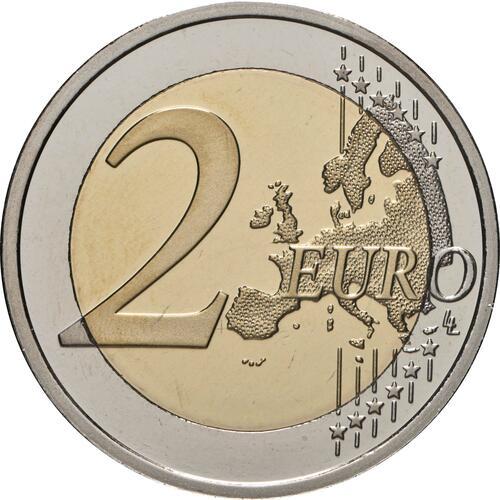 Vorderseite:Finnland : 2 Euro 100. Jahrestag der Selbstverwaltung in der Region Aland  2021 PP