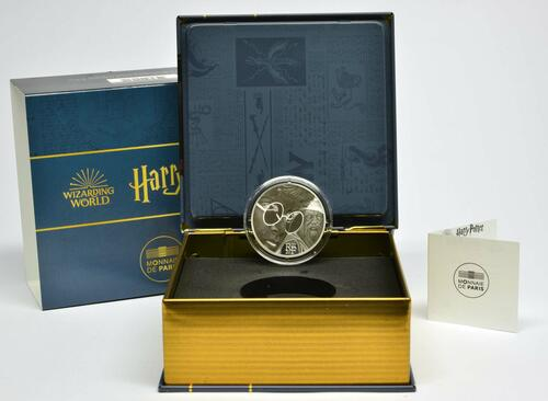 Lieferumfang:Frankreich : 10 Euro Harry Potter und Dumbledore  2021 PP