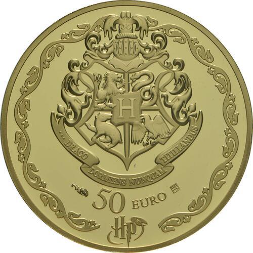 Rückseite:Frankreich : 50 Euro Harry Potter und Dumbledore  2021 PP