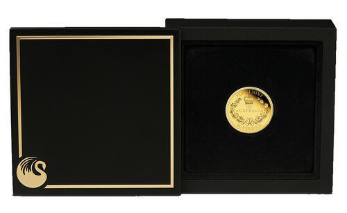 Lieferumfang:Australien : 25 Dollar Sovereign - Gold Proof coin   2021 PP