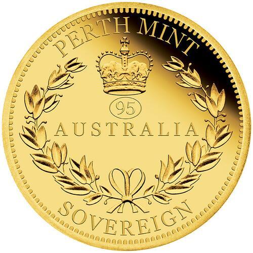 Vorderseite:Australien : 25 Dollar Sovereign - Gold Proof coin   2021 PP