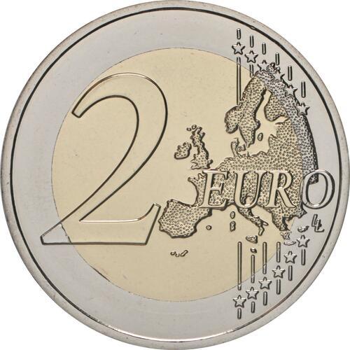 Vorderseite:Frankreich : 2 Euro Läuferin  2021 bfr