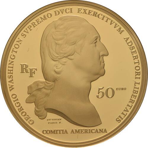 Rückseite:Frankreich : 50 Euro Washington  2021 PP