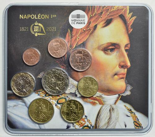 Lieferumfang:Frankreich : 3,88 Euro KMS Frankreich 200. Todestag Napoleon  2021 Stgl.