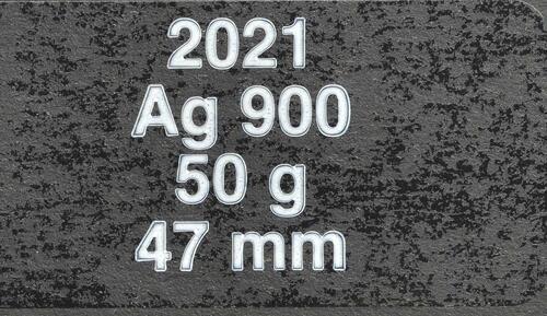Zertifikat:Frankreich : 100 Euro Napoleon  2021 Stgl.