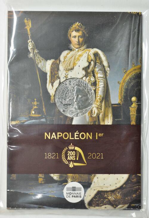 Lieferumfang:Frankreich : 10 Euro Napoleon  2021 Stgl.