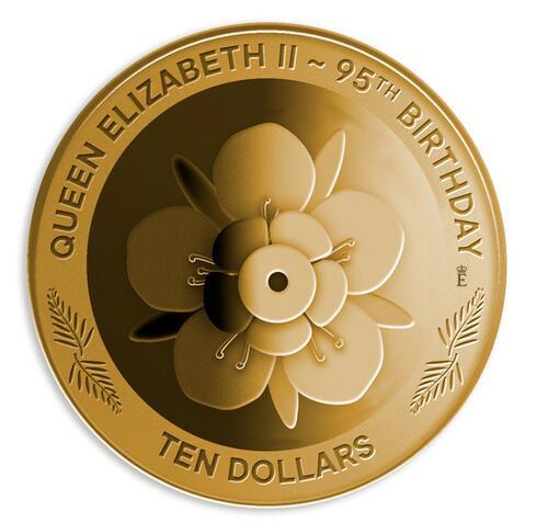 Lieferumfang:Neuseeland : 10 Dollar Königin Elizabeth II 95. Geburtstag  2021 PP