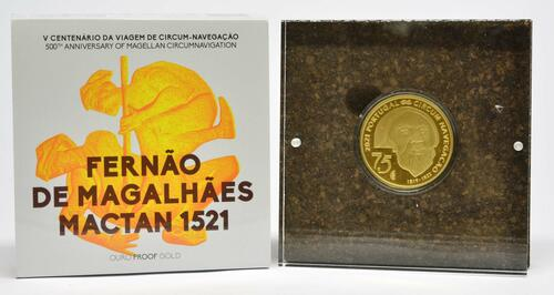 Lieferumfang:Portugal : 7,5 Euro 1521 Mactan  2021 PP