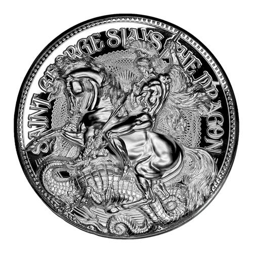 Lieferumfang:Tschad : 10000 Franc St. George Slays the Dragon   2021 PP