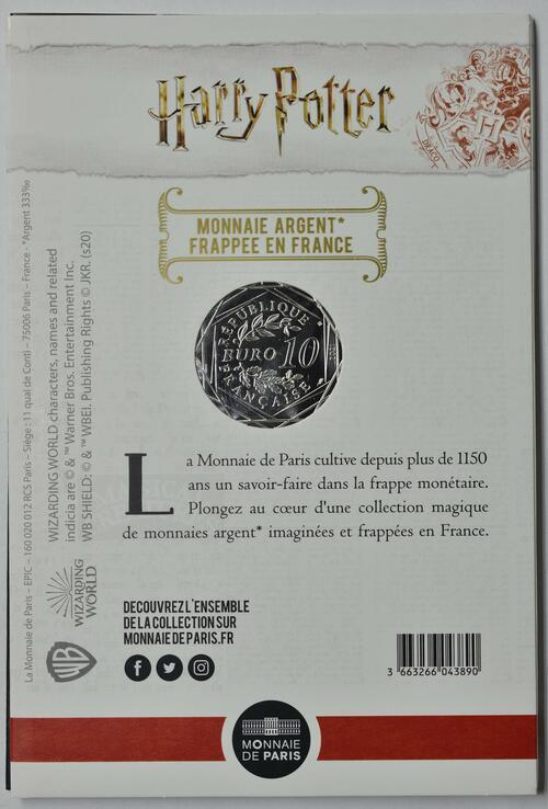 Zertifikat:Frankreich : 10 Euro Die Kammer des Schreckens 3/18  2021 Stgl.