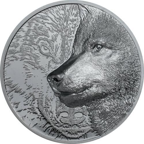 Lieferumfang:Mongolei : 500 T Mystic Wolf  2021 Stgl.